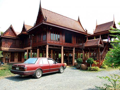 แบบบ้านไทยประยุกต์ โดย เลคกล้า